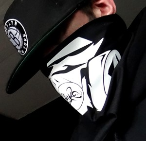 "Picture of Bandana ""Black Mask"""