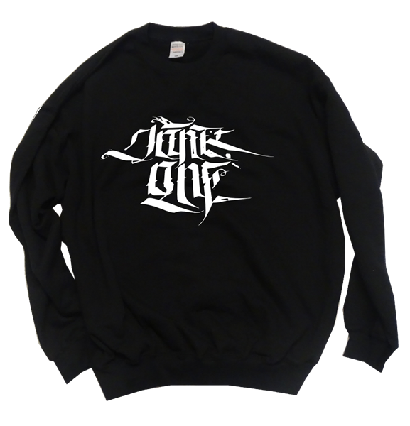 "Picture of ""Jank Calligraphy"" - Sweater (schwarz)"