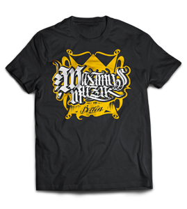 Picture of MAXIMUS KING - SHIRT (schwarz/zweifarbig)