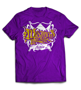 Picture of MAXIMUS KING - SHIRT (lila/zweifarbig)