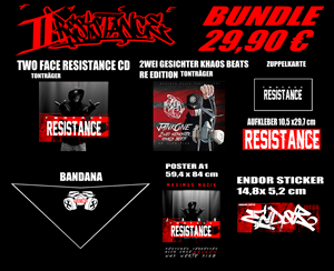 "Picture of JankOne ""Two Face - Resistance"" [BUNDLE]"